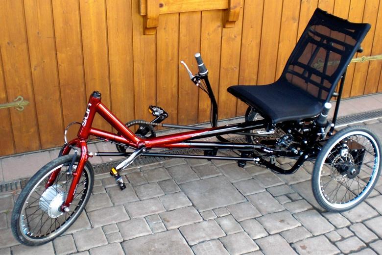 liegerad trike sesselrad liegefahrrad fahrrad terapirad euros. Black Bedroom Furniture Sets. Home Design Ideas